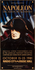 """Movie Posters:Foreign, Napoleon (MGM, 1927). Identical Three Sheets (3) (41"""" X 81""""). Foreign.. ... (Total: 3 Items)"""