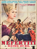 """Movie Posters:Foreign, Nefertiti, Queen of the Nile (Cocinor, 1964). French Grande (47"""" X 62.5""""). Foreign.. ..."""