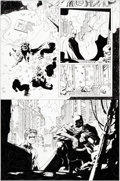 "Original Comic Art:Panel Pages, Jim Lee and Scott Williams Batman #615 ""Hush: Chapter 8: TheDead"" Story Page 19 Nightwing Original Art (DC, 2003)..."