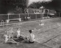 Photographs:Gelatin Silver, O. Winston Link (American, 1914-2001). Swimming Pool, Welsh,West Virginia, 1958. Gelatin silver, 1997. 15-1/2 x 19-1/2 ...