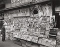 Photographs, Berenice Abbott (American, 1898-1991). Newsstand, Southwest Corner of 32nd Street and Third Avenue, November 19, 1935. G...