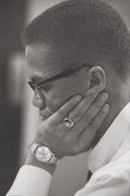 Photographs, Roy Schatt (American, 1909-2002). Malcolm X (four photographs), 1964. Gelatin silver, printed later. 9-1/4 x 6-1/2 i... (Total: 4 Items)