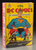 General Americana, 75 Years Of DC Comics: The Art Of Modern Mythmaking, PaulVevitz, Taschen America, 2010. 18-3/8 h x 12-3/4 w x 3-5/8...