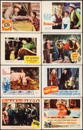 """Movie Posters:War, The Man from Dakota & Others Lot (MGM, 1940). Lobby Cards (22)(11"""" X 14""""), Three Sheets (2) (41"""" X 81""""), One Sheets (3) (27...(Total: 37 Items)"""