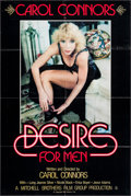"""Movie Posters:Adult, Desire for Men & Other Lot (Cinema 7, 1981). One Sheets (2) (27"""" X 41""""). Adult.. ... (Total: 2 Items)"""