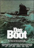 "Movie Posters:War, Das Boot (Neue Constantin, 1981). German A1 Poster (23.25"" X 33"").War.. ..."