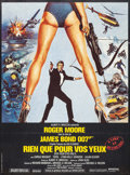 "Movie Posters:James Bond, For Your Eyes Only (United Artists, 1981). French Grande (45.5"" X62""). James Bond.. ..."