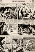 Original Comic Art:Panel Pages, Russ Heath The Brave and the Bold #11 Story Page 4 Original Art (DC, 1957)....