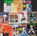 Baseball Collectibles:Publications, Detroit Tigers Greats Signed Vintage Magazines Lot of 11. ...