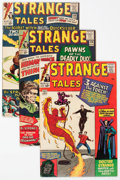 Silver Age (1956-1969):Superhero, Strange Tales Group of 34 (Marvel, 1964-68) Condition: AverageFN.... (Total: 34 Comic Books)