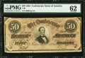 Confederate Notes:1864 Issues, T66 $50 1864 PF-8 Cr. 499.. ...
