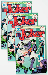 The Joker #1 Group of 9 (DC, 1975) Condition: Average VF.... (Total: 9 Comic Books)