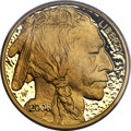 Modern Bullion Coins, 2008-W $50 One-Ounce Gold Buffalo, .9999 Fine, PR70 Deep Cameo PCGS....
