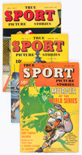 Golden Age (1938-1955):Non-Fiction, True Sport Picture Stories Group of 10 (Street & Smith,1945-49) Condition: Average FN-.... (Total: 10 Comic Books)