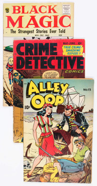 Comic Books - Assorted Golden Age Comics Group of 26 (Various Publishers, 1940s-50s) Condition: Average VG.... (Total: 2...
