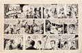 Original Comic Art:Comic Strip Art, Marvin Bradley and Frank Edgington Rex Morgan M.D. Sunday Comic Strip Original Art dated 7-4-48 (Field Enterprises...