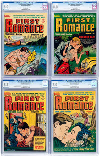First Romance CGC-Graded File Copy Group of 4 (Harvey, 1951-52).... (Total: 4 Comic Books)