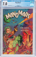 Golden Age (1938-1955):Science Fiction, Man O' Mars #1 (Fiction House, 1953) CGC FN/VF 7.0 Off-white towhite pages....