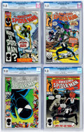Modern Age (1980-Present):Superhero, The Amazing Spider-Man Group of 4 (Marvel, 1986) CGC NM/MT 9.8 ....(Total: 4 Comic Books)