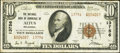 National Bank Notes:Oklahoma, Altus, OK - $10 1929 Ty. 2 The NB of Commerce Ch. # 13756. ...