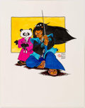 Original Comic Art:Illustrations, Stan Sakai - Usagi Yojimbo Characters - Noriyuki and TomoeIllustration Original Art (1987)....