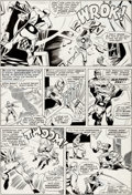 Original Comic Art:Panel Pages, Don Heck and Frank Giacoia The Avengers #29 Page 19 OriginalArt (Marvel, 1966)....