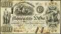 Obsoletes By State:Louisiana, New Orleans, LA- Municipality No. One $100 May 2, 1843. ...