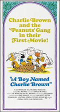 "Movie Posters:Animation, A Boy Named Charlie Brown (National General, 1969). Three Sheet (41"" X 77""). Animation.. ..."