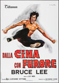 "Movie Posters:Action, The Chinese Connection (Titanus, 1973). Italian 2 - Fogli (39"" X55""). Action.. ..."