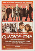"""Movie Posters:Rock and Roll, Quadrophenia (World Northal, 1979). Argentinean Poster (29"""" X42.5""""). Rock and Roll.. ..."""