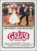 "Movie Posters:Musical, Grease (Paramount, 1978). Italian 2 - Fogli (39"" X 55.25""). Musical.. ..."