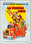 "Movie Posters:Animation, Little Lulu & Other Lot (Heritage Cinematografica, 1970s). Italian 2 - Foglis (2) (39"" X 55.25""). Animation.. ... (Total: 2 Items)"