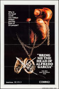 "Movie Posters:Crime, Bring Me the Head of Alfredo Garcia (United Artists, 1974). OneSheet (27"" X 41"") Advance. Crime.. ..."