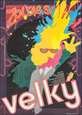 "Movie Posters:Comedy, Big (20th Century Fox, 1988). Czech Poster (23.25"" X 33""). Comedy.. ..."