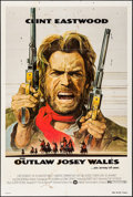 "Movie Posters:Western, The Outlaw Josey Wales & Other Lot (Warner Brothers, 1976). OneSheet (27"" X 41"") & Uncut Pressbook (Multiple Pages, 11"" X 1...(Total: 2 Items)"