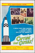 "Movie Posters:Adventure, Capture that Capsule & Other Lot (Riviera, 1961). One Sheets(2) (27"" X 41""). Adventure.. ... (Total: 2 Items)"