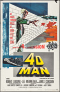 """Movie Posters:Science Fiction, 4D Man (Universal International, 1959). One Sheet (27"""" X 41""""). Science Fiction.. ..."""
