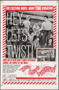 "Movie Posters:Rock and Roll, Hey, Let's Twist (Paramount, 1962). One Sheet (27"" X 41"") Style B.Rock and Roll.. ..."