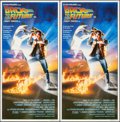 "Movie Posters:Science Fiction, Back to the Future (Universal, 1985). Identical Australian Daybills(2) (13"" X 30""). Science Fiction.. ... (Total: 2 Items)"