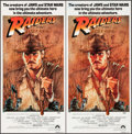 "Movie Posters:Adventure, Raiders of the Lost Ark (Paramount, 1981). Identical AustralianDaybills (3) (13"" X 30""). Adventure.. ... (Total: 3 Items)"