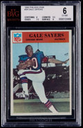 Football Cards:Singles (1960-1969), 1966 Philadelphia Gale Sayers #38 BVG EX-MT 6....