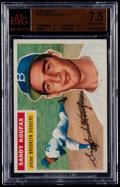 Baseball Cards:Singles (1950-1959), 1956 Topps Sandy Koufax #79 BVG NM+ 7.5....