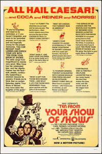 Ten from Your Show of Shows & Others Lot (Continental, 1973). Autographed One Sheet & One Sheets (2) (27...