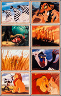 "Movie Posters:Animation, The Lion King & Other Lot (Buena Vista, 1994). Mini Lobby Card Sets of 8 (2 Sets) (8"" X 10""). Animation.. ... (Total: 16 Items)"