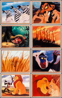 """The Lion King & Other Lot (Buena Vista, 1994). Mini Lobby Card Sets of 8 (2 Sets) (8"""" X 10""""). Animatio..."""