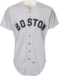 Baseball Collectibles:Uniforms, 1985 Wade Boggs Game Worn Boston Red Sox Jersey. ...