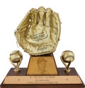 Baseball Collectibles:Others, 1970 Pete Rose Gold Glove Award....
