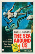 "Movie Posters:Documentary, The Sea Around Us & Other Lot (RKO, 1953). One Sheets (2) (27"" X 41""). Documentary.. ... (Total: 2 Items)"