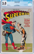 Golden Age (1938-1955):Superhero, Superman #60 (DC, 1949) CGC GD/VG 3.0 Off-white to white pages....