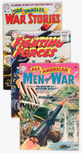 Golden Age (1938-1955):War, DC Golden to Silver Age War Comics Group of 22 (DC, 1950s-60s)Condition: Average GD/VG.... (Total: 22 Comic Books)